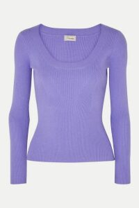 Temperley London - Joan Knitted Sweater - Lilac