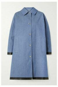 Mackintosh - Bonded Cotton-denim Coat - Mid denim