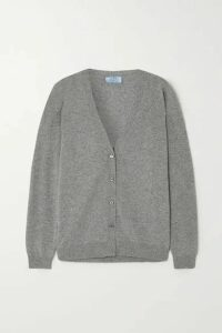 Prada - Cashmere Cardigan - Gray