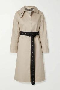 Mackintosh - Roslin Belted Bonded Cotton Trench Coat - Beige