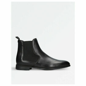 Mark leather Chelsea boots