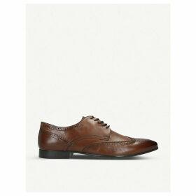 Nilidien leather derby shoes