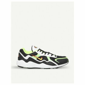 Zoom Alpha leather trainers