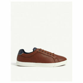 Thwally leather trainers