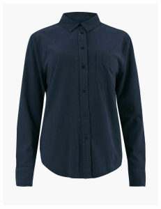 M&S Collection Pure Cotton Corduroy Shirt