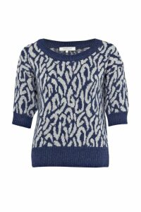 Habibi Knitted Scoop Neck Jumper