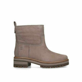 Timberland Courmayeur Valley Shlg - Taupe Ankle Boots