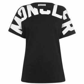Moncler Neck Logo T Shirt