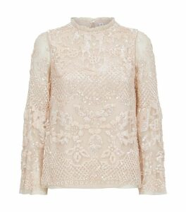 Snowdrop Sequin Top
