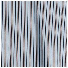 Lace Panel Stripe Blouse