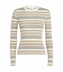 Wool-Blend Stripe Sweater