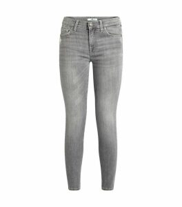 Skinny Illusion Cropped Jeans