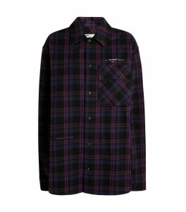 Oversized Flannel Check Shirt