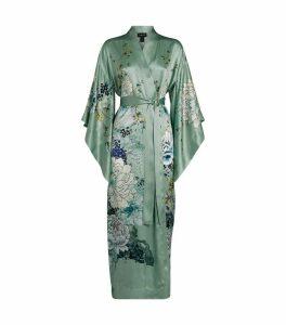 Silk Floral Kimono