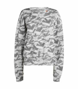 Patterned Arrows Sweatshirt
