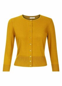 Evie Cardigan Golden Yellow