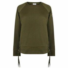 Moncler Maglia Nylon Trim Sweatshirt