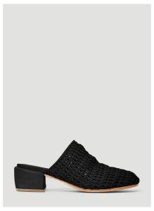 Marsèll Woven Sandals in Black size EU - 36