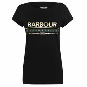 Barbour International Apex Logo T Shirt