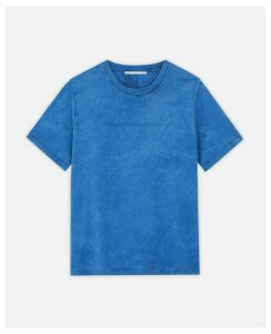 Stella McCartney Blue Logo T-shirt, Women's, Size 6