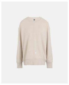 Stella McCartney Brown Brown Essentials Training Sweatshirt, Women's, Size L