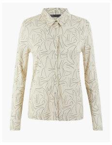M&S Collection Printed Regular Fit Shirt