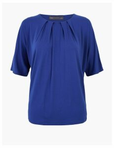 M&S Collection Relaxed Batwing Short Sleeve Top