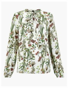 M&S Collection Floral Print Blouse