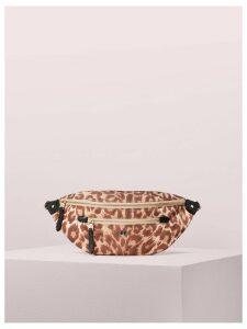 Taylor Leopard Large Belt Bag - Natural Multi - One Size