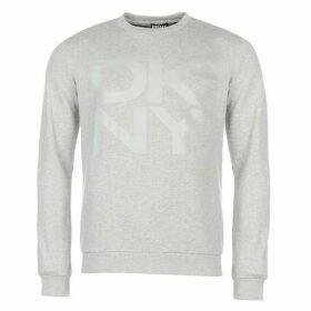DKNY Large Logo Crew Sweatshirt