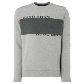 Boss Salbo Colour Block Crew Neck Sweatshirt