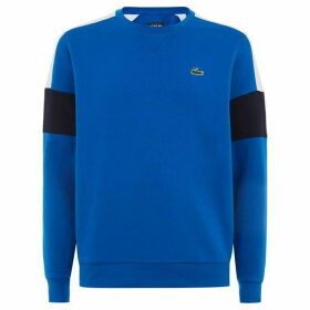 Lacoste Sport Colourblock Fleece Tennis Sweatshirt