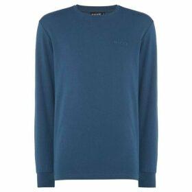 Nicce Embossed Logo Sweatshirt