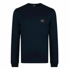 Paul And Shark Long Sleeve Pocket T Shirt