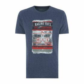 Raging Bull Distress Scoreboard T Shirt