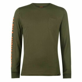 Alpha Industries Long Sleeve T Shirt Mens