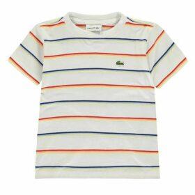 Lacoste Fine Stripe T Shirt