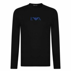 EMPORIO ARMANI UNDERWEAR Long Sleeved Logo Underwear T Shirt