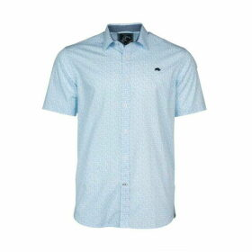 Raging Bull Short Sleeve Ditsy Print Shirt