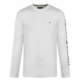 Tommy Hilfiger Long Sleeve Cotton T Shirt
