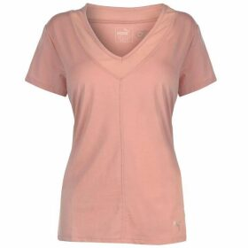Puma Slouchy Mesh T Shirt Ladies