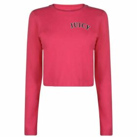 Juicy Crop Long Sleeve T Shirt