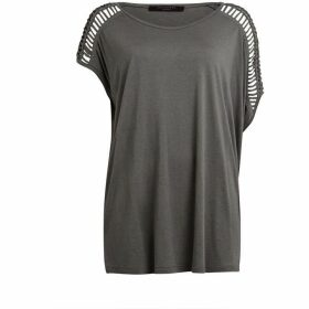 All Saints Simmo Drape Top
