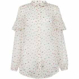 French Connection Florence Crinkle Top
