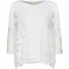 Phase Eight Beth Bubble Burnout Top
