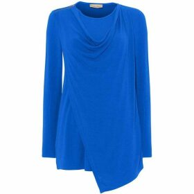 Phase Eight Zahra Zip Shoulder Top