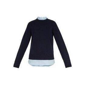 Ted Baker Long Sleeve Frilled Sweater