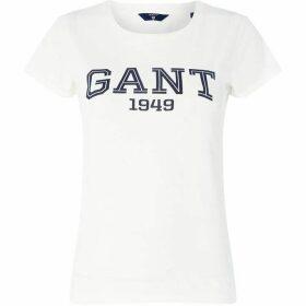 Gant Short Sleeve Logo Tee