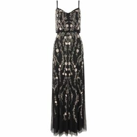 Adrianna Papell Strappy embellished gown