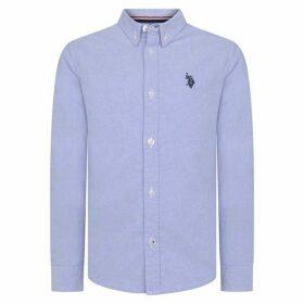 US Polo Assn US Long Sleeve Oxford Shirt